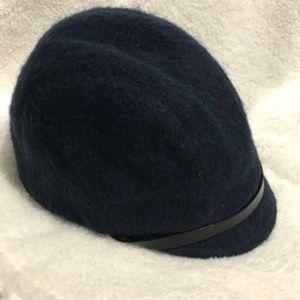 Eugenia Kim Blue Wool cap NWOT